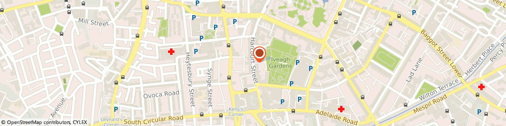 Route/map/directions to Tripod,  Dublin, HARCOURT STREET