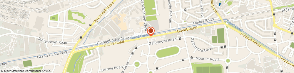 Route/map/directions to Bestsellers.ie,  Dublin, AEON SOLUTIONS LTD. DAVITT ROAD CRUMLIN