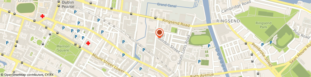 Route/map/directions to THE FACTORY, D04 Dublin, 35A Barrow Street