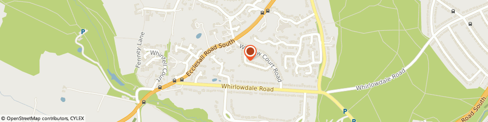 Route/map/directions to THINK SOCIAL SOLUTIONS LIMITED, S11 9NR Sheffield, 14 Whirlow Grove