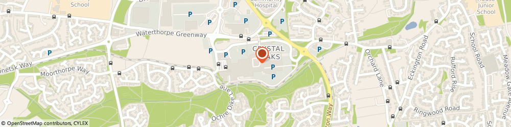 Route/map/directions to Specsavers Opticians and Audiologists - Crystal Peaks, S20 7PN Sheffield, Unit 50d