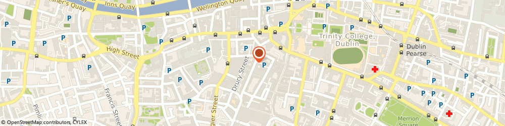Route/map/directions to Strictly Fish,  Dublin, 8 South William Street
