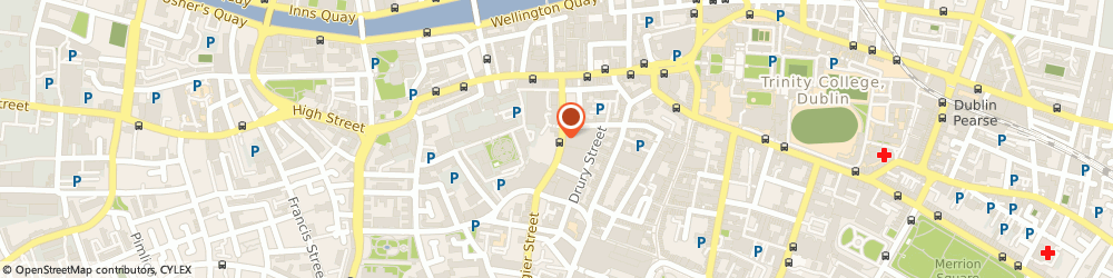 Route/map/directions to Waltons Musical Galleries Ltd,  Dublin, 69, SOUTH GREAT GEORGES ST