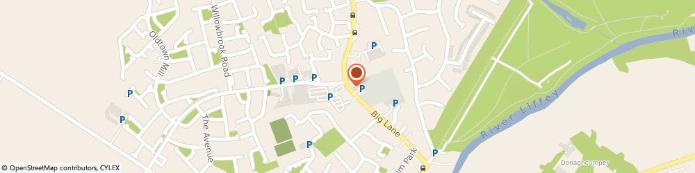 Route/map/directions to PETER REILLY FINANCIAL SERVICES, W23 Celbridge, 2, Templegrove, Maynooth Road