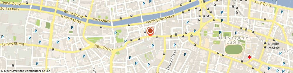 Route/map/directions to MKf Institute, D02 Dublin, 36 Dame Street
