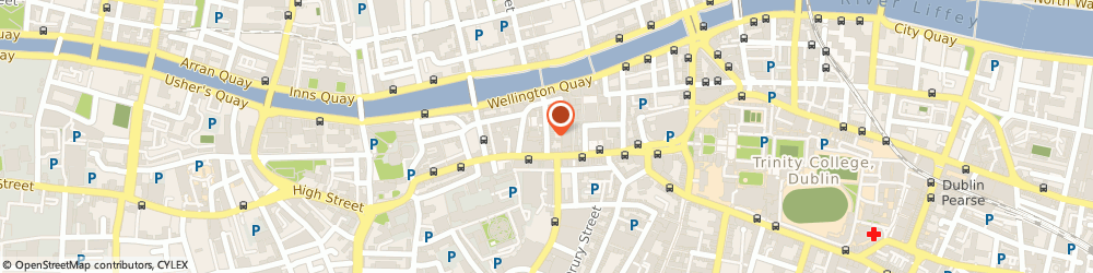 Route/map/directions to Paul Ryan Music, D02 Dublin, 4 Eustace Street, Temple Bar