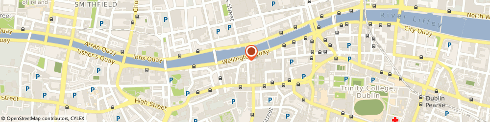 Route/map/directions to Fitzsimons Bar and Nightclub,  Dublin, 21, 22 WELLINGTON QY TEMPLE BAR 2