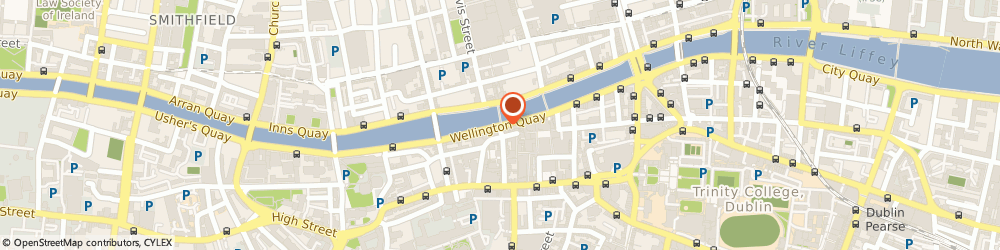 Route/map/directions to BRUSHFIeLD,  Dublin, WELLINGTON QUAY