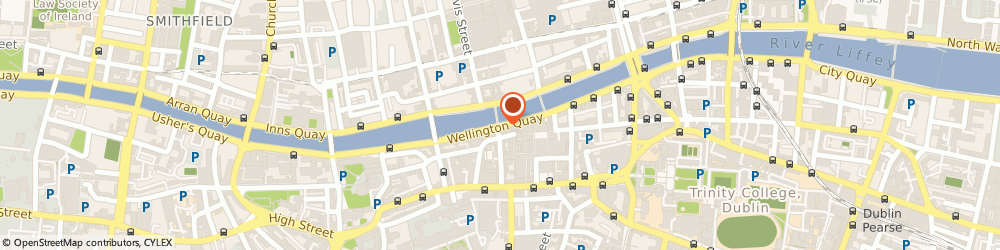 Route/map/directions to The Clarence, D02 Dublin, 6-8 Wellington Quay