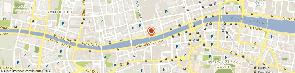 Route/map/directions to The Morrison, a DoubleTree by Hilton Hotel,  Dublin, Ormond Quay Lower