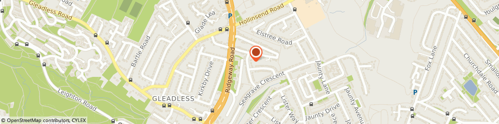 Route/map/directions to Mr Bill Newby Sheffield, S12 2JR Sheffield, PHYSIO FOR FITNESS, 26 SEAGRAVE DRIVE, GLEADLESS