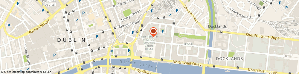 Route/map/directions to West Global,  Dublin, 9 EXCHANGE PLACE IFSC CUSTOM HOUSE DOCK