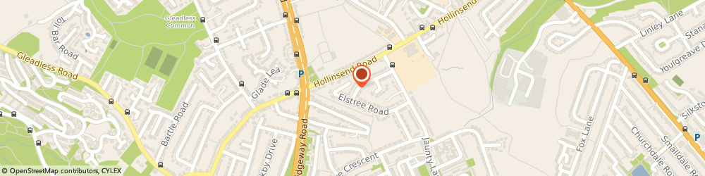 Route/map/directions to Complete Solution Services Ltd, S12 2JF Sheffield, 46 Welwyn Rd
