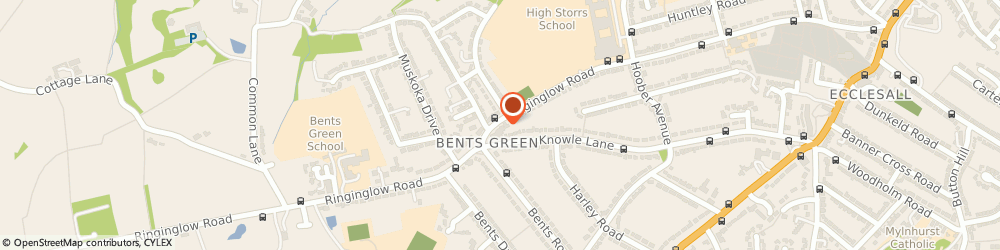 Route/map/directions to C.p.v Dental Care, S11 7PU Sheffield, 237A Ringinglow Road
