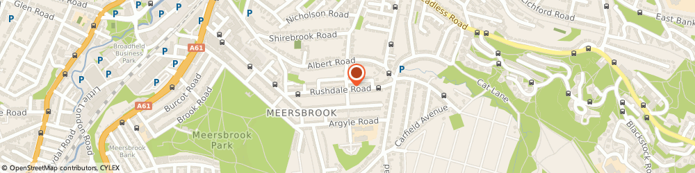 Route/map/directions to Jb Property Maintenance, S8 9QD Sheffield, 109 Rushdale Rd