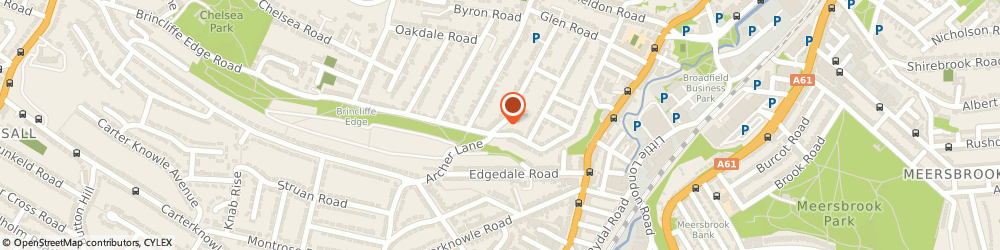 Route/map/directions to Helen O'grady, S7 1RJ Sheffield, 88 Ashland Rd