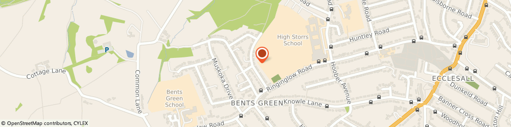 Route/map/directions to Health Action Overseas UK Ltd, S11 7RA Sheffield, 9 BENTS GREEN ROAD