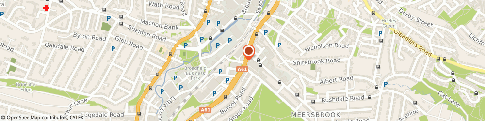 Route/map/directions to Mr Ian Grasier Sheffield, S8 0YH Sheffield, KENWOOD PARK CLINIC AT SLOAN MEDICAL PRACTICE, 2 LITTLE LONDON ROAD