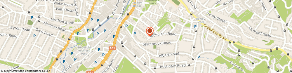 Route/map/directions to Heeley Development Trust, S8 9TF Sheffield, 62-68 Thirlwell Rd