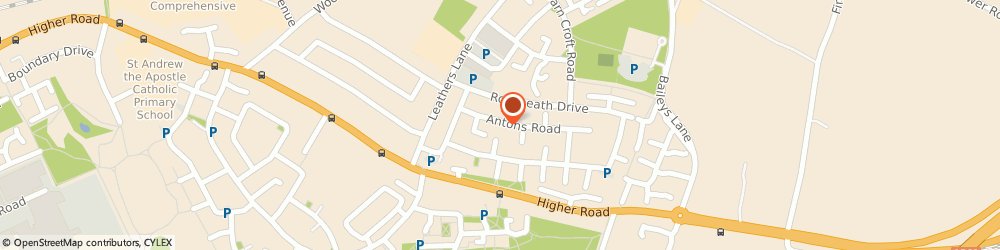 Route/map/directions to Fastlane Driving School, L26 9UW Liverpool, 16 Antons Rd