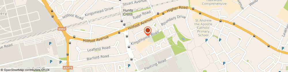 Route/map/directions to Out Of School Kids Club Ltd, L25 0PJ Liverpool, Kingsthorne Road