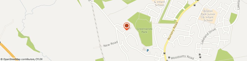 Route/map/directions to G-Max Private Hire, S25 4GT Sheffield, 3 Cramfit Cl