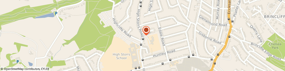 Route/map/directions to Ecclesall Infants School, S11 7LG Sheffield, High Storrs Road