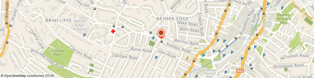 Route/map/directions to Bannerdale Osteopaths, S7 1PE Sheffield, 5 Machon Bank Rd