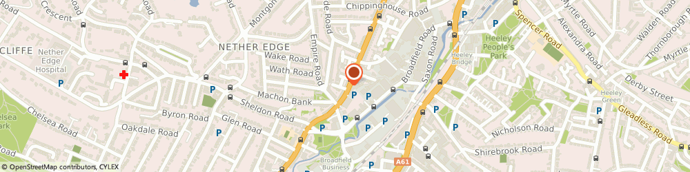 Route/map/directions to TechMoto, S7 1FP Sheffield, 354 Abbeydale Rd