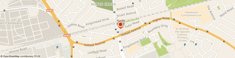 Route/map/directions to Post Office Limited, L25 0NN Liverpool, 269 Speke Road