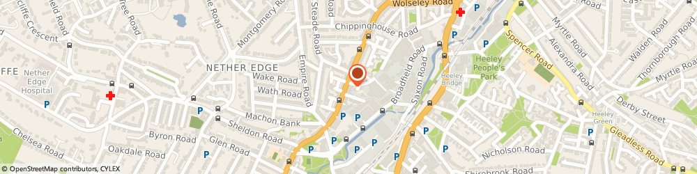 Route/map/directions to Hedgerow Publishing Ltd, S7 1FS Sheffield, 325 Abbeydale Road