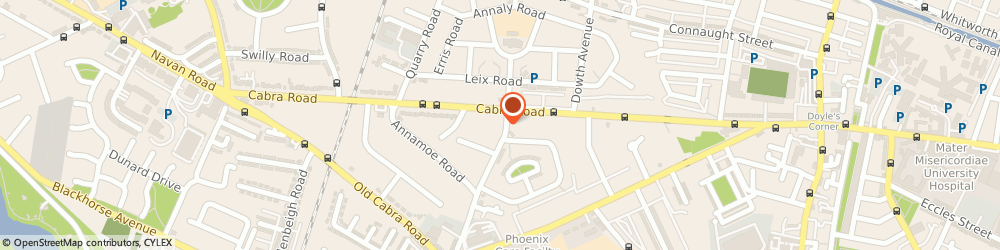 Route/map/directions to Cabra Credit Union Limited, D07 DH50 Cabra, 93 Annamoe Terrace