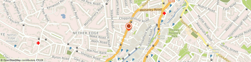 Route/map/directions to Euro Locksmith, S7 1FL Sheffield, 290 Abbeydale Rd