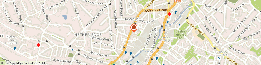 Route/map/directions to Clc International Office, S7 1FJ Sheffield, 291, Abbeydale Road
