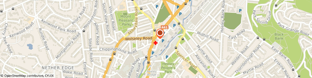Route/map/directions to Police Station Representatives, S2 4DX Sheffield, 653 Queens Road