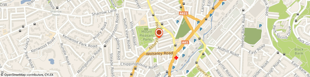 Route/map/directions to Mr John Ostrovskis Sheffield, S7 2BJ Sheffield, THE CLINIC, 919 ABBEYDALE ROAD