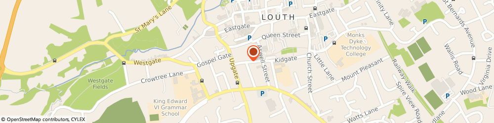 Route/map/directions to John Taylors Limited Louth, LN11 9EZ Louth, The Wool Mart, Kidgate