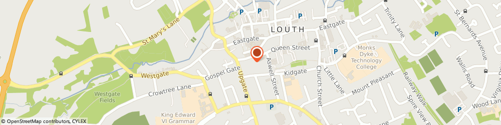 Route/map/directions to Simon Nicholson, LN11 9JQ Louth, Unit 7C Pawn Passagemercer Row