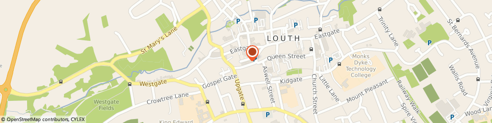 Route/map/directions to John Taylors Limited Louth, LN11 9PY Louth, 14 - 16 Cornmarket