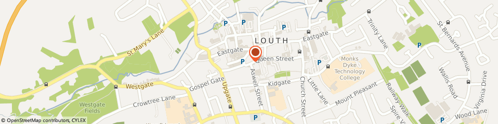 Route/map/directions to One2one Taxis, LN11 9AU Louth, 5 Queen Street