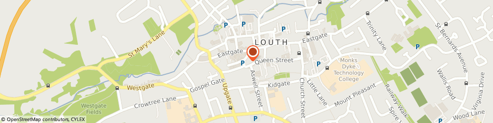 Route/map/directions to Nottingham Building Society, LN11 9PD Louth, 22/23 Market Place