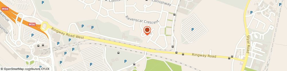Route/map/directions to Styal Driving School, M22 0AG Manchester, 34 Beaford Road