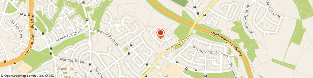 Route/map/directions to Grasp System Nurse, S13 8EY Sheffield, 32, PICKARD CRESCENT