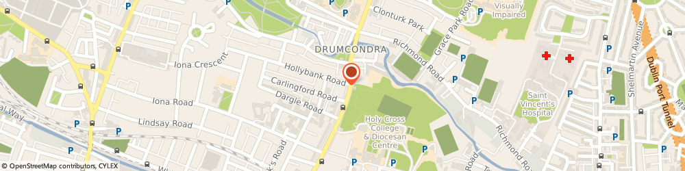 Route/map/directions to Drumcondra Physiotherapy & Sports Injury Clinic,  Dublin, 128 LOWER DRUMCONDRA ROAD DRUMCONDRA 9