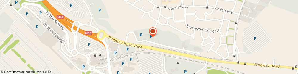 Route/map/directions to CATAX SOLUTIONS LTD, M22 5TG Manchester, MANCHESTER BUSINESS PARK, 3000 AVIATOR WAY