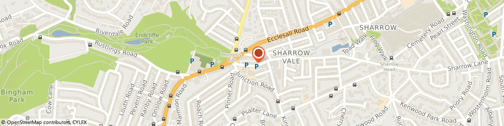 Route/map/directions to CARDS,CARDS,CARDS, S11 8ZP Sheffield, 392 SHARROW VALE ROAD
