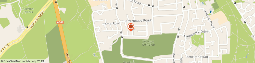 Route/map/directions to Driving Instructor, L25 8SH Liverpool, 8 Roedean Cl