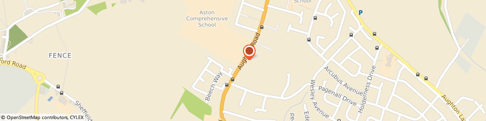 Route/map/directions to Aston Plastering, S26 4TH Sheffield, 110 Aughton Road, Swallownest