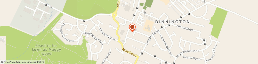 Route/map/directions to LloydsPharmacy, S25 2PN Sheffield, 31-33 Laughton Road