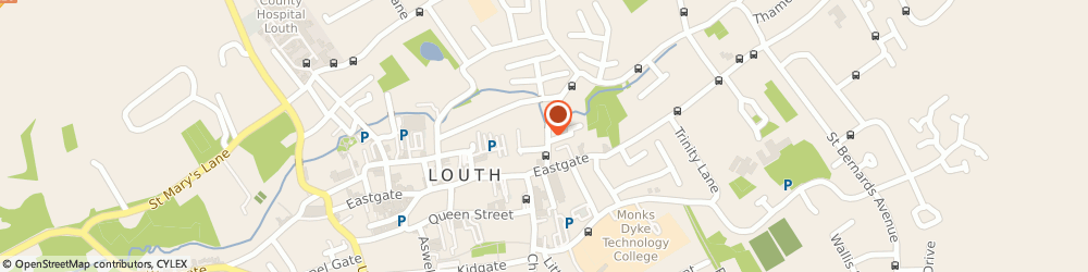 Route/map/directions to Bonnie's Grooming Parlour, LN11 0NB Louth, 17 Ramsgate Rd